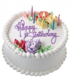 Pic of a Birthday Cake