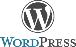 Pic of the WordPress logo.