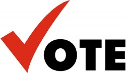 Pic of Vote logo.