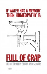 Pic of homeopathy poster.