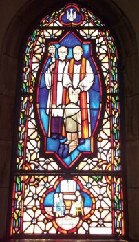 Pic of stained glass window.