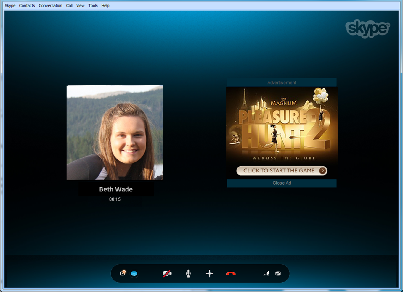 how to call people on skype