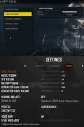 Compare Ghosts' audio options to Black Ops II. Notice a difference? Click to embiggen.