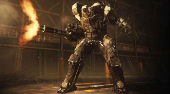 The Goliath mech suit you get to play with at one point.