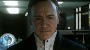 Kevin Spacey's cold, dead eyes will swallow your soul!