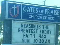 Yes, this is a real church sign.